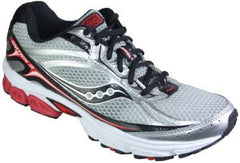 SAUCONY Men's Grid Ignition 3 -SILVER/RED/BLACK- Running shoe