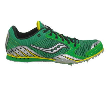 Saucony Men's Velocity 3 mid-Distance Running  Track &  Field Shoe - ShooDog.com