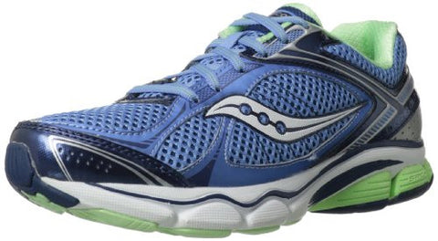 Saucony Women's Echelon 3 •Blue/Navy/Green• Running Shoe