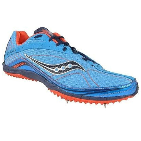 Saucony Men's Kilkenny XC4 Flat Spike •Blue/Orange• - ShooDog.com