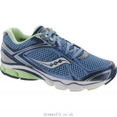 Saucony Women's Echelon 3 •Blue/Navy/Green• Running Shoe - ShooDog.com