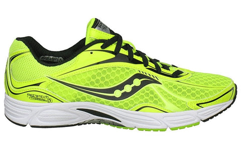 Men's Saucony Grid Fastwitch 5 •Citron/Black • running shoes - ShooDog.com