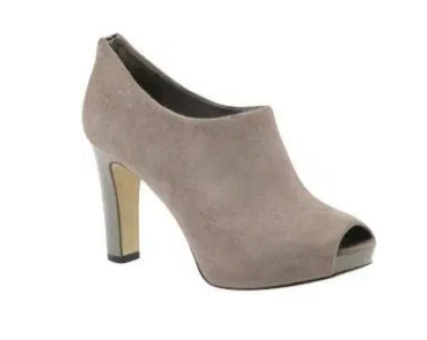 FRANCO SARTO Women's •Vegan• Open-toe High Heel Shootie - ShooDog.com