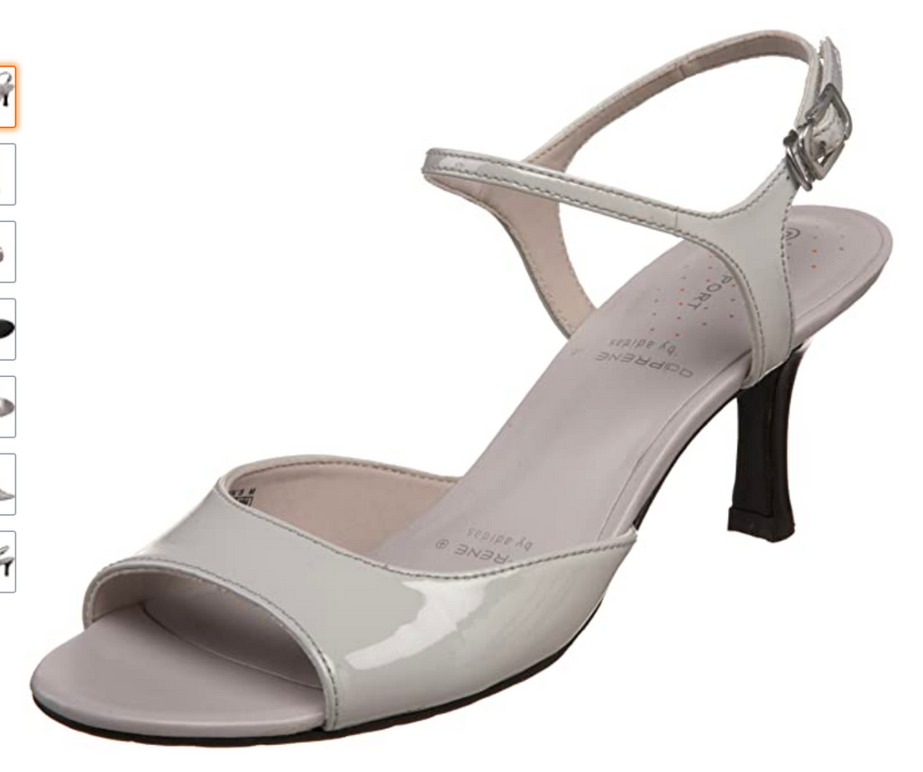 Women's Rockport •CCS Quater Strape•  - Grey - - ShooDog.com