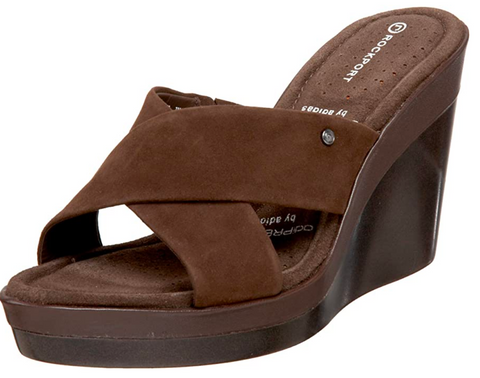 ROCKPORT Women's •Monica• Crossband Wedge