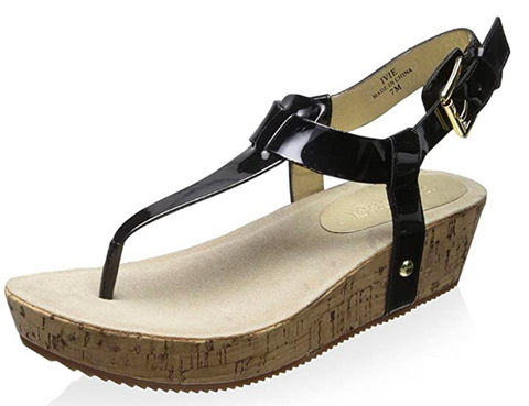 ELLEN TRACY Women's •Ive• Wedge Sandal - ShooDog.com