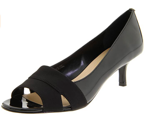 ELLEN TRACY Women's Isabel Open-Toe Pump - ShooDog.com