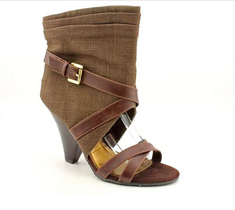 Women's Chinese Laundry •Call Me•  Open-toe Sandal - Chocolate - ShooDog.com