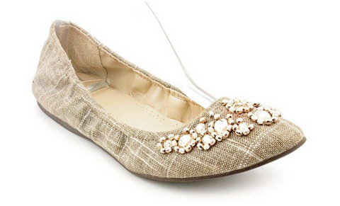 Women's  ADRIENNE VITTADINI •Monet• Jeweled Ballet Flat
