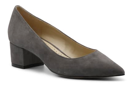 Women's Adrienne Vittadini •Gorden• Sueded Block Heel Pump