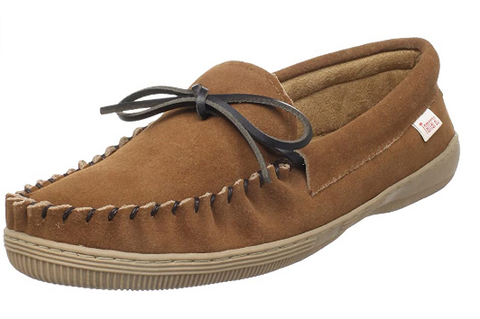 Men's Tamarac by Slippers International •Skipper• Suede Moccasin