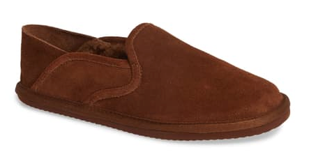 Men's 1901 •Fairbanks• Fleece-lined Suede Slipper