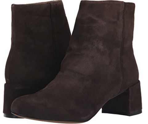 ADRIENNE VITTADINI Women's  •Louisa• Block Heel Dress Bootie