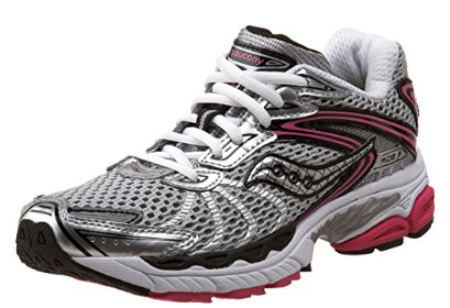 SAUCONY Women's ProGrid Ride 3 - Silver/Pink - Running Shoe