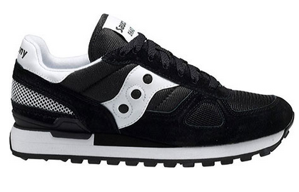 Men's SAUCONY ORIGINALS Courageous •Black•  Running Shoe - ShooDog.com