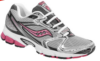 Women's Saucony Grid Stratos 5  •Silver/Black• Running Shoe