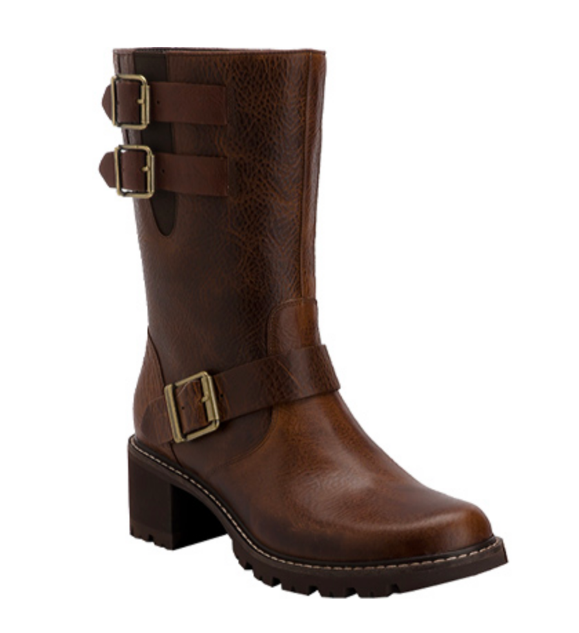 Women's Rockport •Anna• Motor Boot - ShooDog.com
