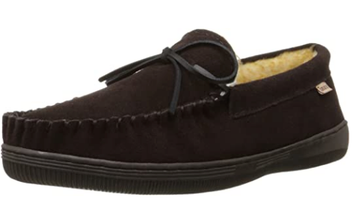 Men's Tamarac by Slippers International •Camper• Fleece- lined Suede Slipper