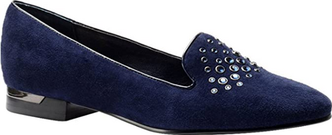 Isola Women's •Donna• Suede Smoking Shoe