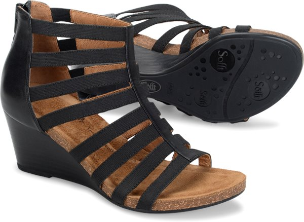SOFFT Women's •MATI• Caged Wedge Sandal