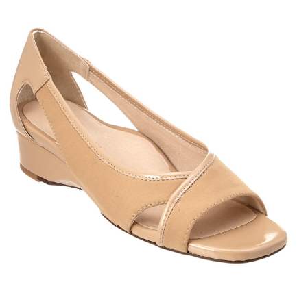 TARYN ROSE Women's •Klouse• Open-toe Slipon Wedge