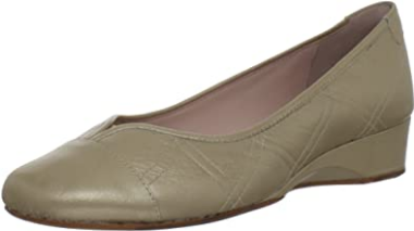 TARYN ROSE Women's •Kenna• Low Wedge Ballet Flat