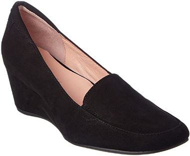 TARYN ROSE Women's •Reyes• Slip-on Wedge Pump