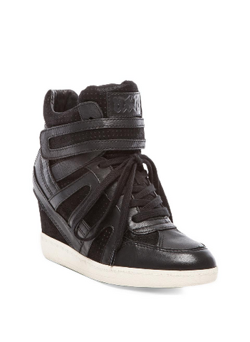 Ash Women's •Beck Bis• High Top Wedge Sneakers