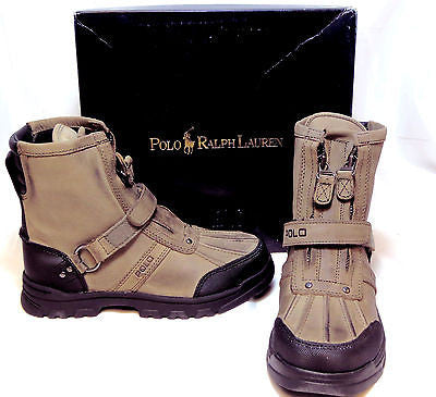 POLO Ralph Lauren Kids CONQUEST  BOOT   •Grey•