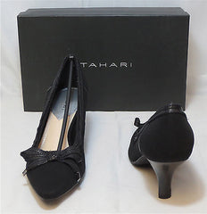 TAHARI Women's Bess Pump - Black - Sz 7.5,8,8.5 - NIB - MSRP $98 - ShooDog.com