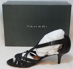TAHARI Women's Pia Sandal - Black - Sz 7.5,9 Only - NIB - MSRP $89 - ShooDog.com