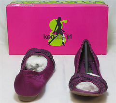 KENSIE GIRL Women's January Flat - Bright Purple - Multi SZ NIB - MSRP $45 - ShooDog.com