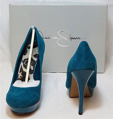 JESSICA SIMPSON Women's •Given• Platform Pump - Emerald - ShooDog.com