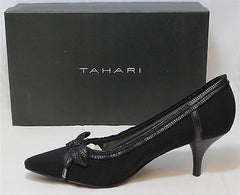 TAHARI Women's Bess Pump - Black - Sz 7.5,8,8.5 - NIB - MSRP $98