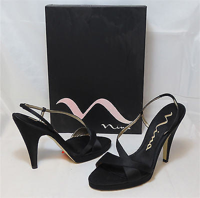 NINA Women's Logan Sandal - Black - Multiple SZ NIB - MSRP $70 - ShooDog.com