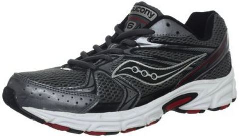 Men's Saucony Cohesion 6 •Grey• Running Shoe - WIDE WIDTH - ShooDog.com
