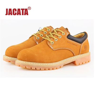 Men's JACATA •Low-Cut Work Oxford• 8651 Wheat Nubuck - ShooDog.com