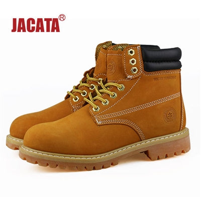 "Men's JACATA 6"" Classic Nubuck Work Boot - 8601 Wheat - ShooDog.com"
