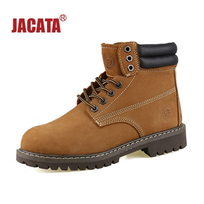 "Men's JACATA 6"" Classic Work Boot -  8602 Brown Nubuck - ShooDog.com"