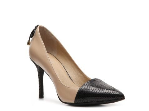 TAHARI Women's  •Jalone•   Leather Dress Pump - ShooDog.com