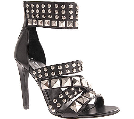 JESSICA SIMPSON Women's •Angus • Studded High Heeled Sandal - ShooDog.com