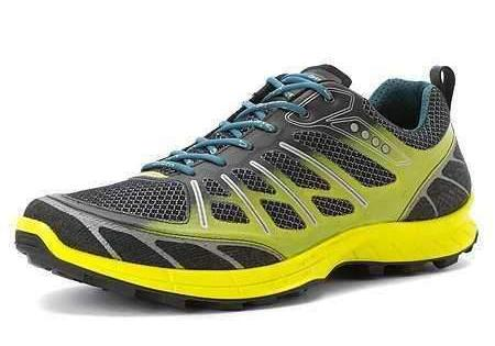 ECCO Men's •Biom Trail FL• Neon Low cut lace