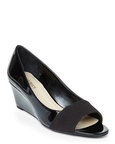 ELLEN TRACY Women's  •Irie• Open-toe Wedge - ShooDog.com