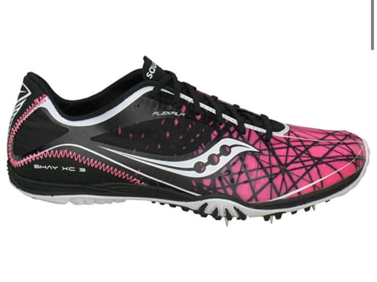 Women's  Saucony Shay XC3 Cross Country Running Spike