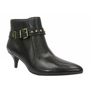 ELLEN TRACY Bentley Ankle Boots -Black- - ShooDog.com
