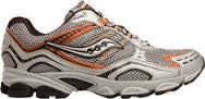 Men's Saucony Grid Excursion TR3  •Silver/Orange/Black• Trail Running Shoe - ShooDog.com
