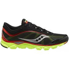 Men's Saucony Virrata •Black/Red/Neon Green• Running Shoes