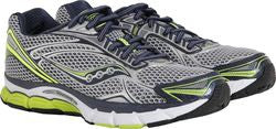 Men's SAUCONY PROGRID TRIUMPH 9 •Grey/Black•  Running Shoe - ShooDog.com