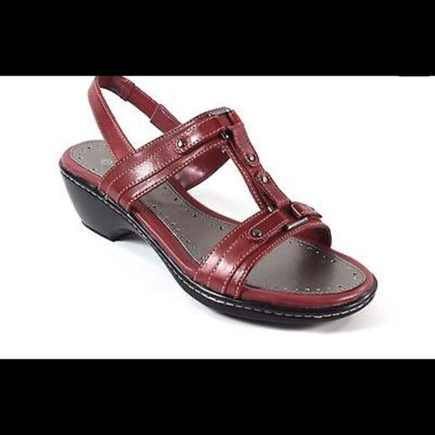 ROCKPORT Women's •Stelyn• Sandal - Red - ShooDog.com