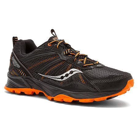 Saucony Men's Excursion TR8  •Black/Orange• Trail Running Shoe